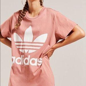 Adidas Originals Trefoil Dust Pink T Shirt